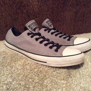 Converse Allstars Black Gray Sz 13
